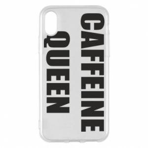 Etui na iPhone X/Xs Caffeine queen