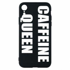 Etui na iPhone XR Caffeine queen