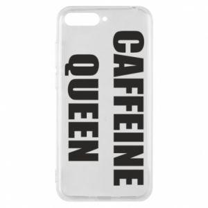 Etui na Huawei Y6 2018 Caffeine queen