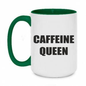 Kubek dwukolorowy 450ml Caffeine queen