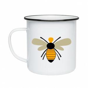 Kubek emaliowany Calm bee