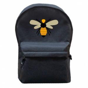 Plecak z przednią kieszenią Calm bee