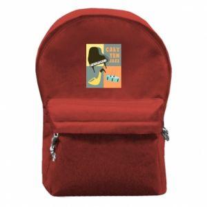 Plecak z przednią kieszenią Cały ten jazz