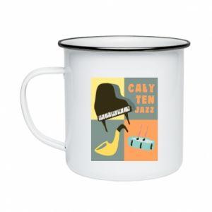 Enameled mug All that jazz