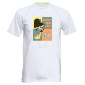 Męska koszulka sportowa Cały ten jazz