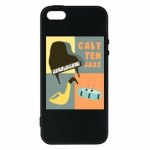 Phone case for iPhone 5/5S/SE All that jazz