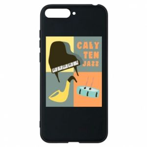 Phone case for Huawei Y6 2018 All that jazz