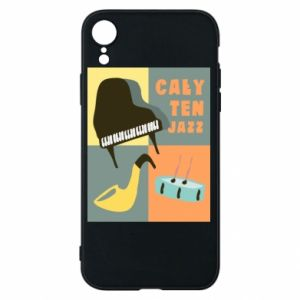 Phone case for iPhone XR All that jazz