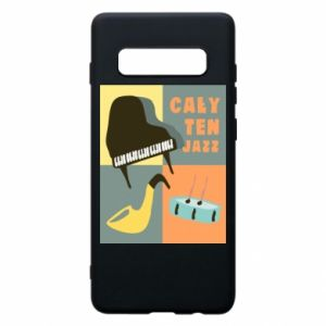 Phone case for Samsung S10+ All that jazz