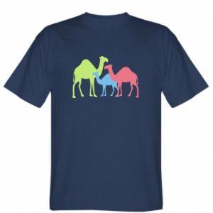 T-shirt Camel family - PrintSalon