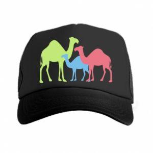 Trucker hat Camel family - PrintSalon