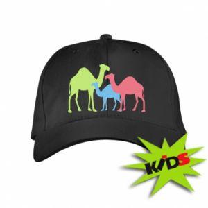 Kids' cap Camel family - PrintSalon