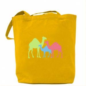 Bag Camel family - PrintSalon
