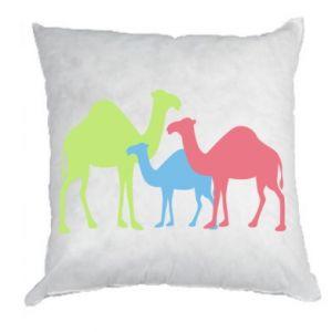 Pillow Camel family - PrintSalon