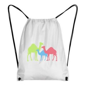Backpack-bag Camel family - PrintSalon