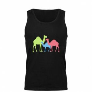 Men's t-shirt Camel family - PrintSalon