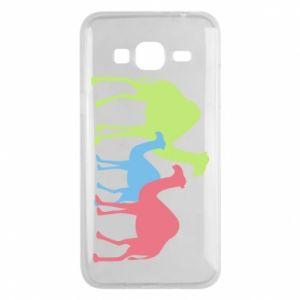 Phone case for Samsung J3 2016 Camel family - PrintSalon