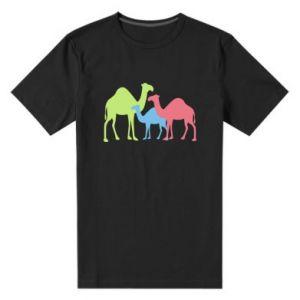 Men's premium t-shirt Camel family - PrintSalon