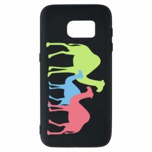 Phone case for Samsung S7 Camel family - PrintSalon