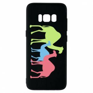 Phone case for Samsung S8 Camel family - PrintSalon