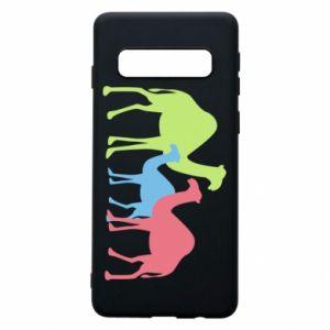 Phone case for Samsung S10 Camel family - PrintSalon