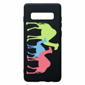 Phone case for Samsung S10+ Camel family - PrintSalon