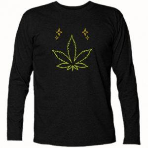 Koszulka z długim rękawem Cannabis