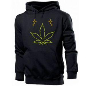 Męska bluza z kapturem Cannabis