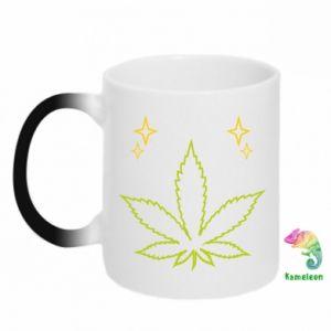 Kubek-kameleon Cannabis