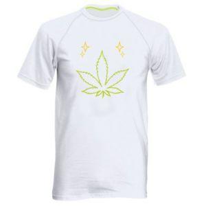 Męska koszulka sportowa Cannabis