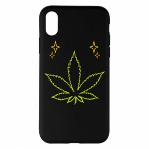 Etui na iPhone X/Xs Cannabis