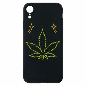 Etui na iPhone XR Cannabis