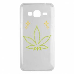 Etui na Samsung J3 2016 Cannabis