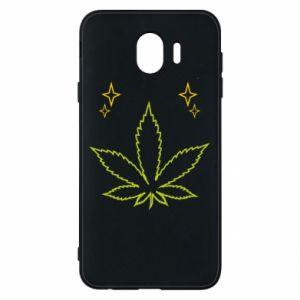 Etui na Samsung J4 Cannabis