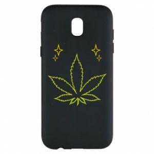 Etui na Samsung J5 2017 Cannabis