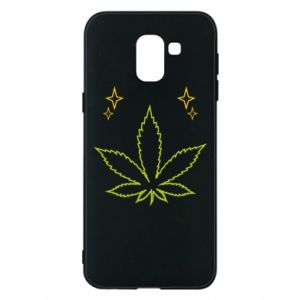 Etui na Samsung J6 Cannabis
