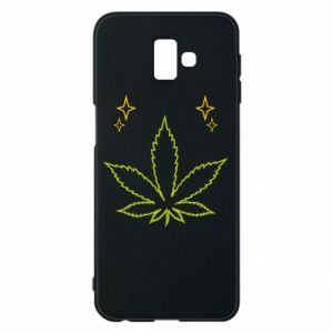Etui na Samsung J6 Plus 2018 Cannabis