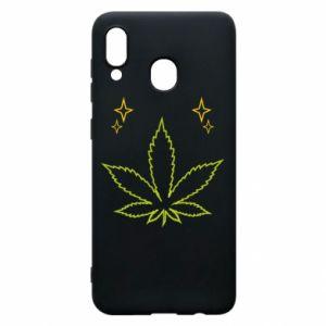 Etui na Samsung A20 Cannabis