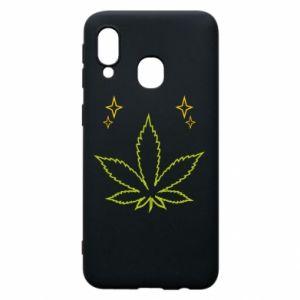 Etui na Samsung A40 Cannabis