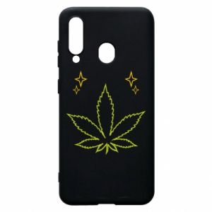 Phone case for Samsung A60 Cannabis