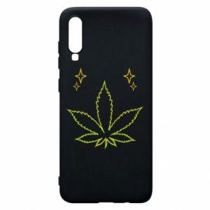 Etui na Samsung A70 Cannabis