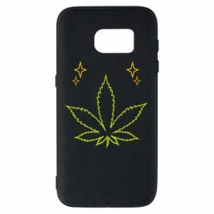 Etui na Samsung S7 Cannabis
