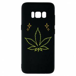 Etui na Samsung S8 Cannabis