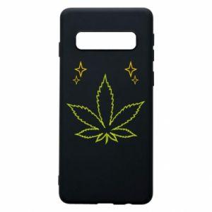Etui na Samsung S10 Cannabis