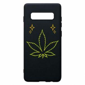 Etui na Samsung S10+ Cannabis