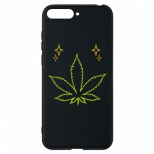 Phone case for Huawei Y6 2018 Cannabis