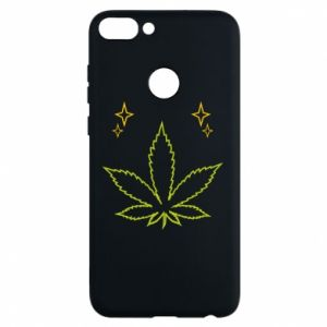 Etui na Huawei P Smart Cannabis