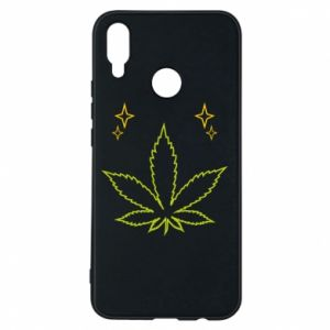 Etui na Huawei P Smart Plus Cannabis