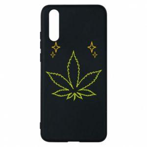 Etui na Huawei P20 Cannabis
