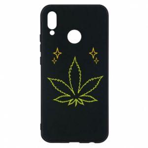Etui na Huawei P20 Lite Cannabis